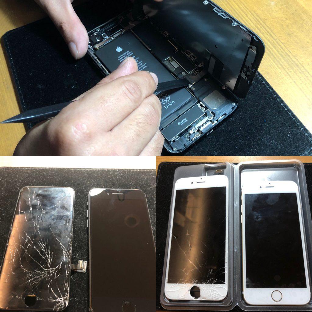 iPhone修理にデータそのまま最短30分でお渡し可能です(´▽`)